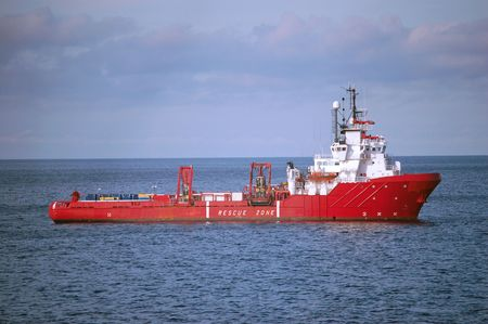handle: Red Anchor Handling supply vessel in the North Sea