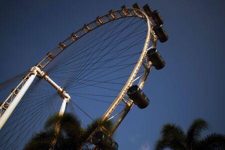 ferriswheel: Singapore Flyer at Marina Bay