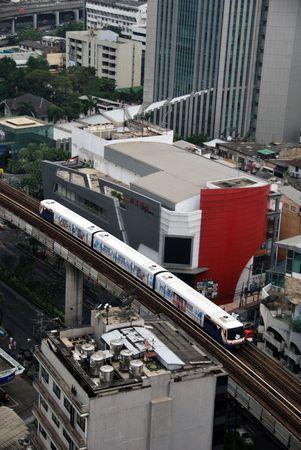 Bangkok, March, 10, 2010 - Subway train