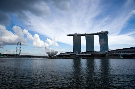Singapore, October, 30, 2011 - Marina Bay Sands. Editorial