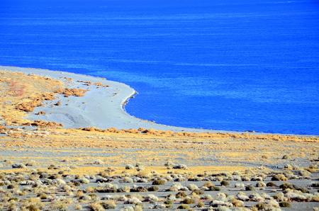 Walker lake in the Great Basin, Western Nevada