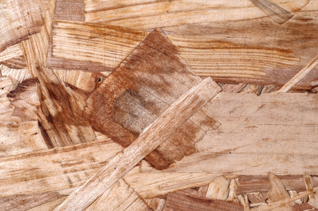 wooden partition: Particle Board as an abstract background for design close up
