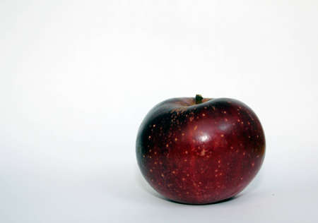 dark red apple