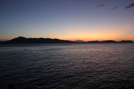 Sunset in Anilao,Philippines