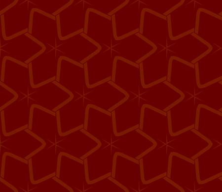Decorative seamless geometric pattern. Vector illustration. Stok Fotoğraf - 125183973