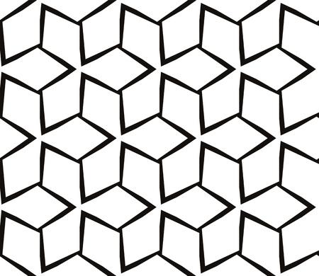 Decorative seamless geometric pattern. Vector illustration. Stok Fotoğraf - 125183976