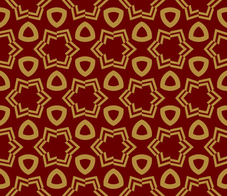 Decorative seamless geometric pattern. Vector illustration. Stok Fotoğraf - 125183982