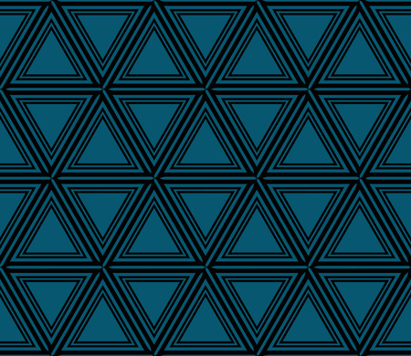 Abstract background with geometric seamless ornament. Vector illustration. Stok Fotoğraf - 125183984
