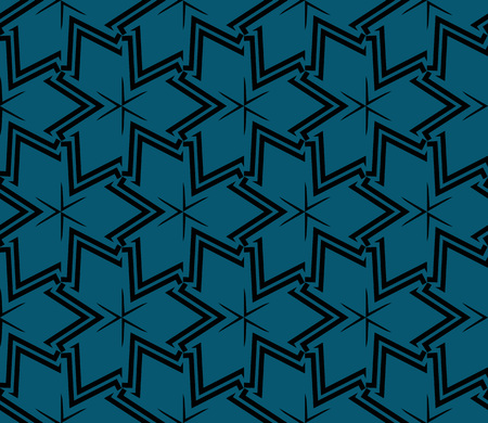 Abstract background with geometric seamless ornament. Vector illustration. Stok Fotoğraf - 125183992