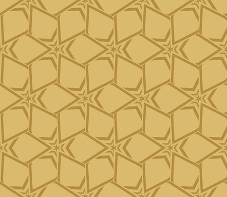 Decorative seamless geometric pattern. Vector illustration. Stok Fotoğraf - 125183996