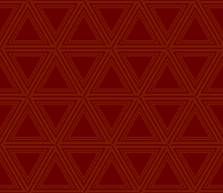 Decorative seamless geometric pattern. Vector illustration. Stok Fotoğraf - 125184005