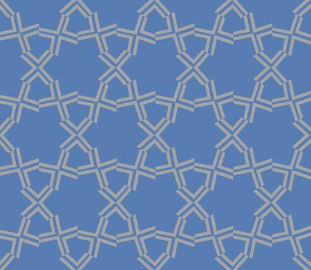 Decorative seamless geometric pattern. Vector illustration.