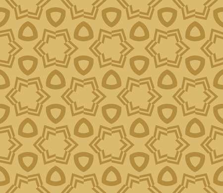 Decorative seamless geometric pattern. Vector illustration. Stok Fotoğraf - 125184017