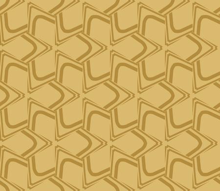 Decorative seamless geometric pattern. Vector illustration. Stok Fotoğraf - 125184021