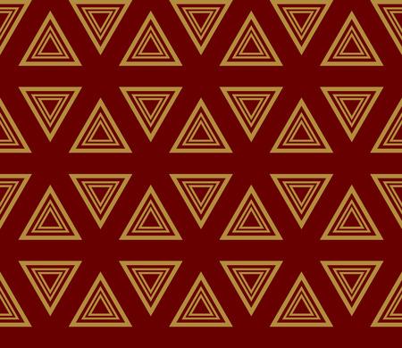 Decorative seamless geometric pattern. Vector illustration. Stok Fotoğraf - 125184022