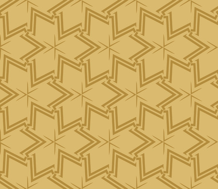 Decorative seamless geometric pattern. Vector illustration. Stok Fotoğraf - 125184025