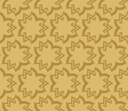 Decorative seamless geometric pattern. Vector illustration. Stok Fotoğraf - 125184026