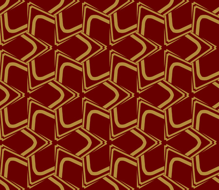 Decorative seamless geometric pattern. Vector illustration. Stok Fotoğraf - 125184029