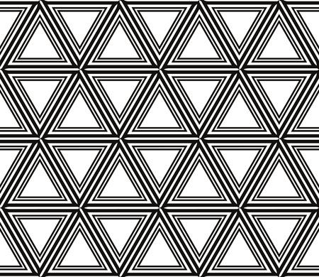Decorative seamless geometric pattern. Vector illustration. Stok Fotoğraf - 125184032