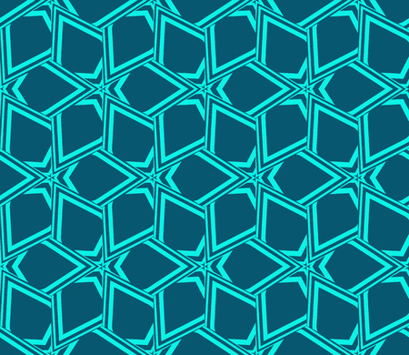 Abstract background with geometric seamless ornament. Vector illustration. Stok Fotoğraf - 125184033