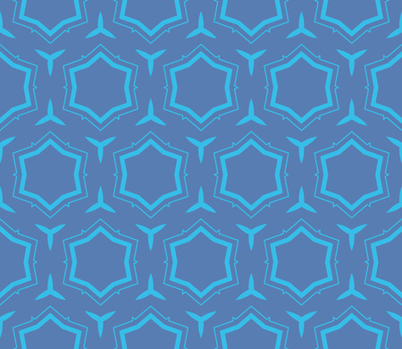 Simple modern seamless geometric pattern. For digital paper, textile print, page fill. Vector illustration Stok Fotoğraf - 125184036