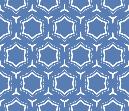 Simple modern seamless geometric pattern. For digital paper, textile print, page fill. Vector illustration Stok Fotoğraf - 125184040