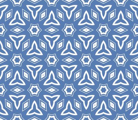 Simple modern seamless geometric pattern. For digital paper, textile print, page fill. Vector illustration Ilustração