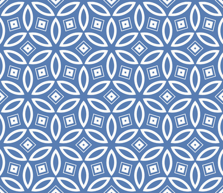 Simple modern seamless geometric pattern. For digital paper, textile print, page fill. Vector illustration Stok Fotoğraf - 125184045