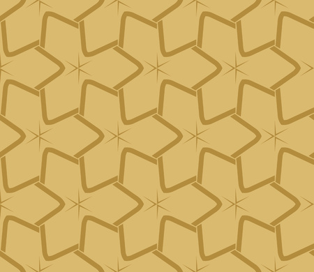 Decorative seamless geometric pattern. Vector illustration. Stok Fotoğraf - 125184046