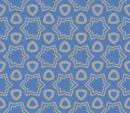 Decorative seamless geometric pattern. Vector illustration. Stok Fotoğraf - 125184052