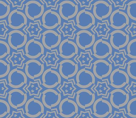 Decorative seamless geometric pattern. Vector illustration. Stok Fotoğraf - 125184053