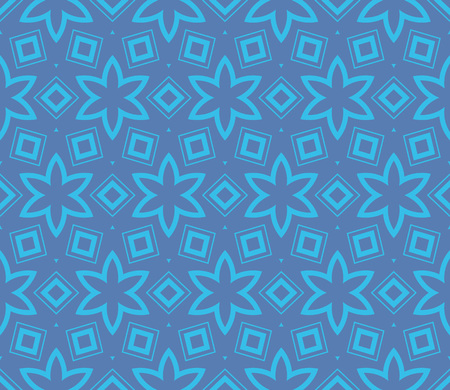 Simple modern seamless geometric pattern. For digital paper, textile print, page fill. Vector illustration Stok Fotoğraf - 125184054