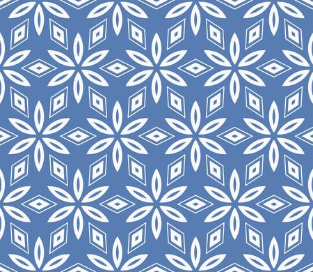 Simple modern seamless geometric pattern. For digital paper, textile print, page fill. Vector illustration Çizim