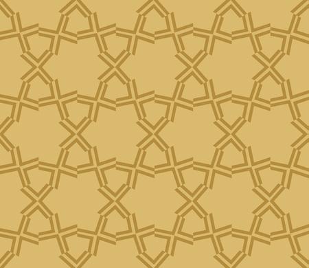 Decorative seamless geometric pattern. Vector illustration. Stok Fotoğraf - 125184062