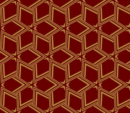 Decorative seamless geometric pattern. Vector illustration. Stok Fotoğraf - 125184063