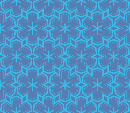 Simple modern seamless geometric pattern. For digital paper, textile print, page fill. Vector illustration Stok Fotoğraf - 125184066