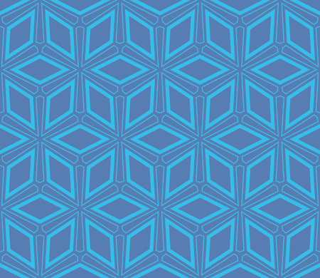 Simple modern seamless geometric pattern. For digital paper, textile print, page fill. Vector illustration Stok Fotoğraf - 125184067