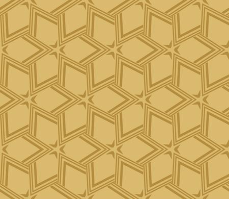 Decorative seamless geometric pattern. Vector illustration. Stok Fotoğraf - 125184069