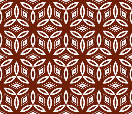 Simple modern seamless geometric pattern. For digital paper, textile print, page fill. Vector illustration Stok Fotoğraf - 125184070