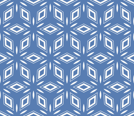 Simple modern seamless geometric pattern. For digital paper, textile print, page fill. Vector illustration Stok Fotoğraf - 125184071