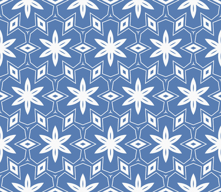 Simple modern seamless geometric pattern. For digital paper, textile print, page fill. Vector illustration Stok Fotoğraf - 125184072