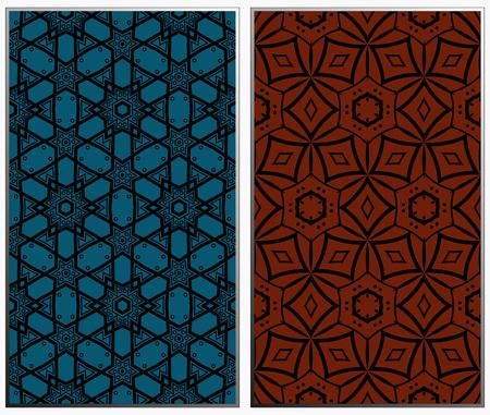 Ensemble de modèles sans couture monochrome de vecteur, texture géométrique abstraite. Ornement pour la décoration intérieure. Répéter l'abstrait avec des traits chaotiques. Vecteurs