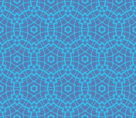 Ornamental seamless pattern. Vector abstract background. Ilustração