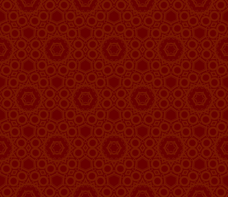 Modern seamless geometric ornament. luxury background. Vector illustration Imagens - 124974209
