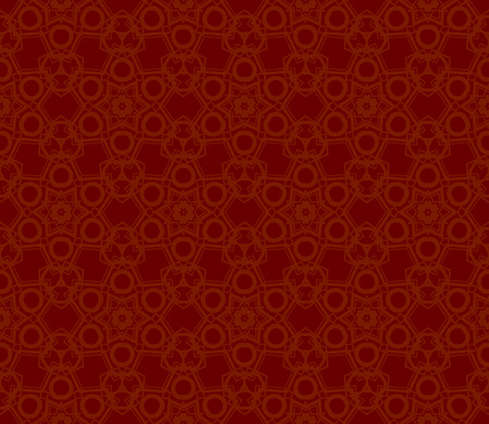 Modern seamless geometric ornament. luxury background. Vector illustration Imagens - 124974229