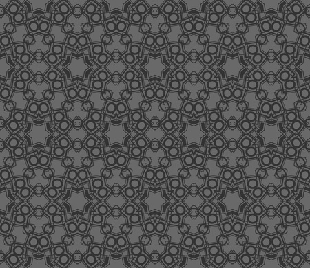Abstract background with geometric seamless ornament. Vector illustration. Imagens - 124974249