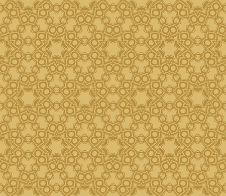 Modern seamless geometric ornament. luxury background. Vector illustration Imagens - 124974282