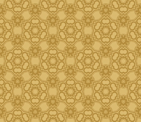 Modern seamless geometric ornament. luxury background. Vector illustration Imagens - 124974287