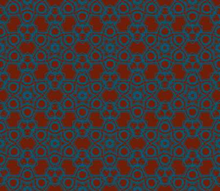 Modern seamless geometric ornament. luxury background. Vector illustration Imagens - 124974358