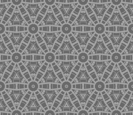 Ornamental seamless pattern. Vector abstract background. Çizim